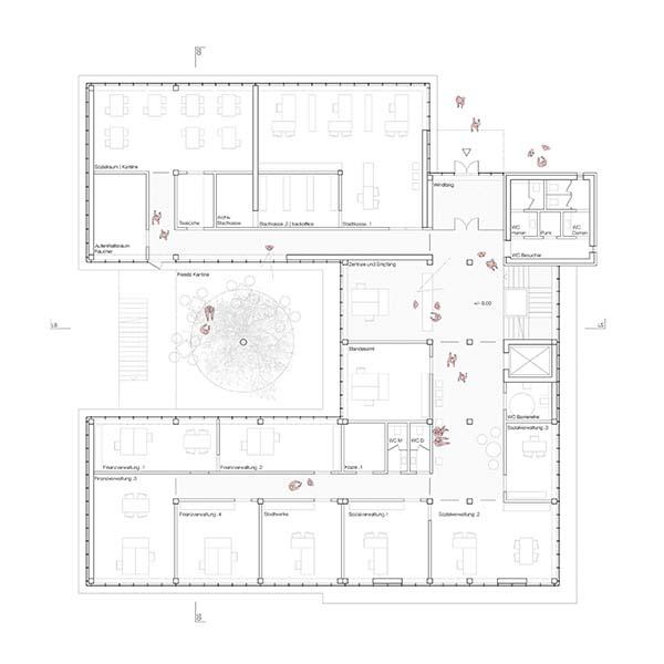 Rathaus Reinheim | Umstrukturierung, Sanierung und Erweiterung | Schoener und Panzer Architekten BDA | Leipzig