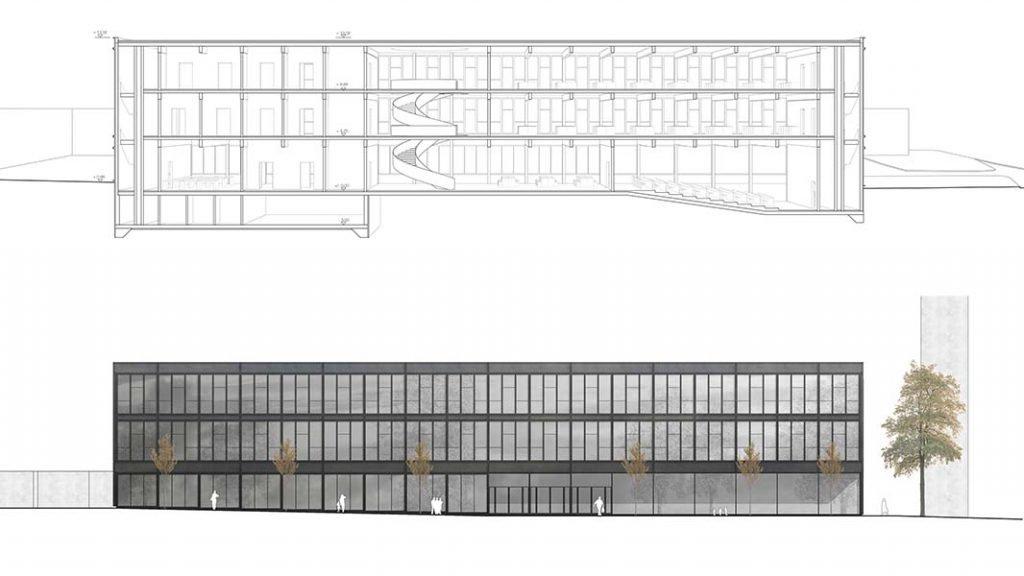 Pharmazie Saarbrücken   Schoener und Panzer Architekten BDA   Leipzig