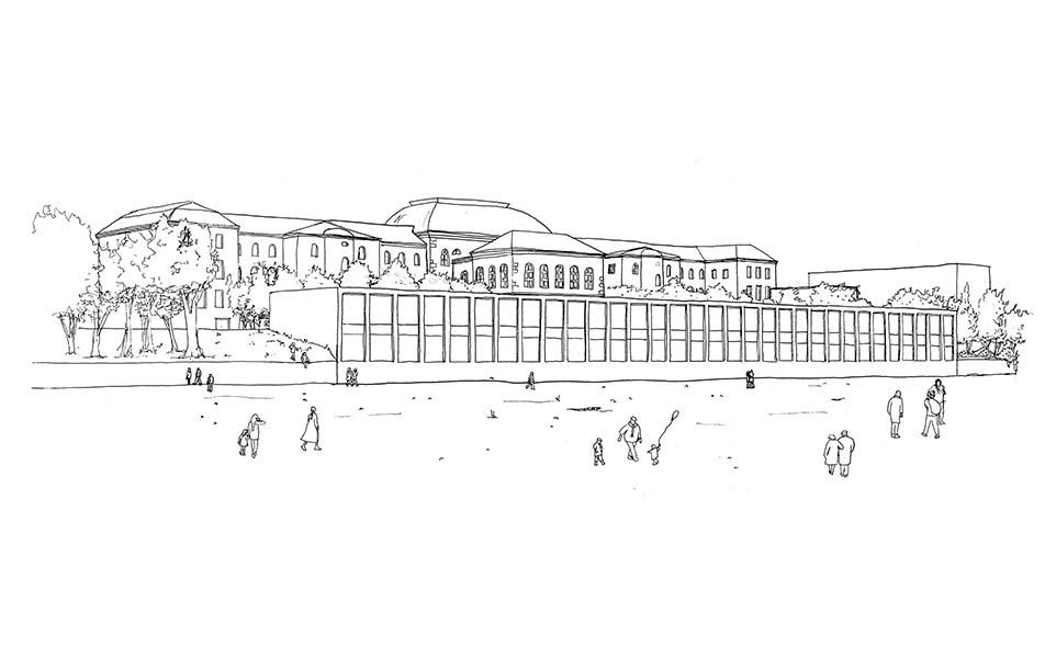 Markgräfin-Wilhelmine-Gymnasium in Bayreuth | Erweiterungsneubau | Schoener und Panzer Architekten BDA