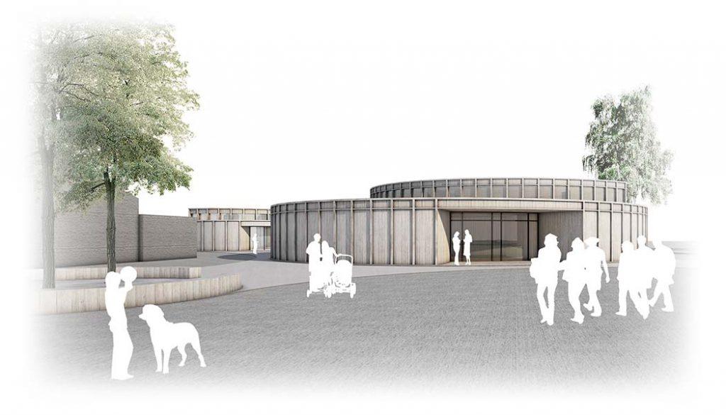 Dorfgemeinschaftshaus, Grünberg | Neubau | Schoener und Panzer Architekten BDA