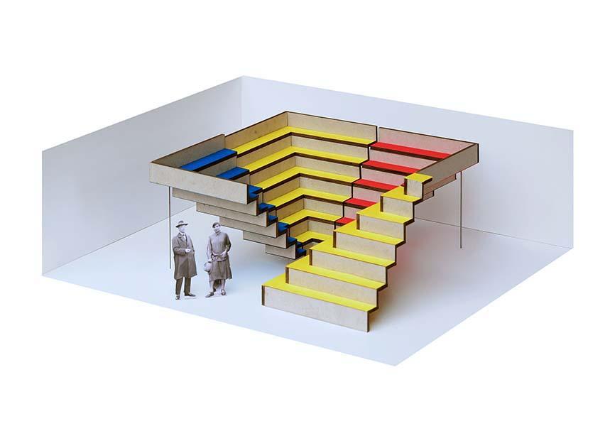 Messestand der Architektenkammer Sachsen | Neue Konzeption | Schoener und Panzer Architekten BDA