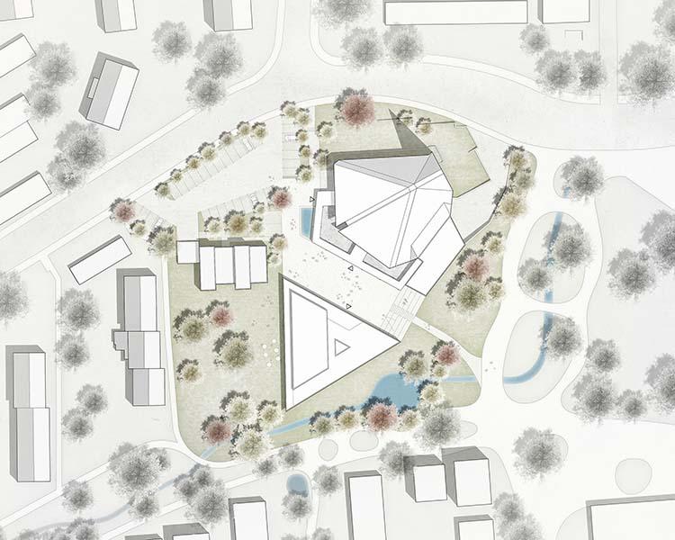 Gemeindezentrum St. Andreas, Reutlingen | Neubau Gemeindehaus | Schoener und Panzer Architekten BDA