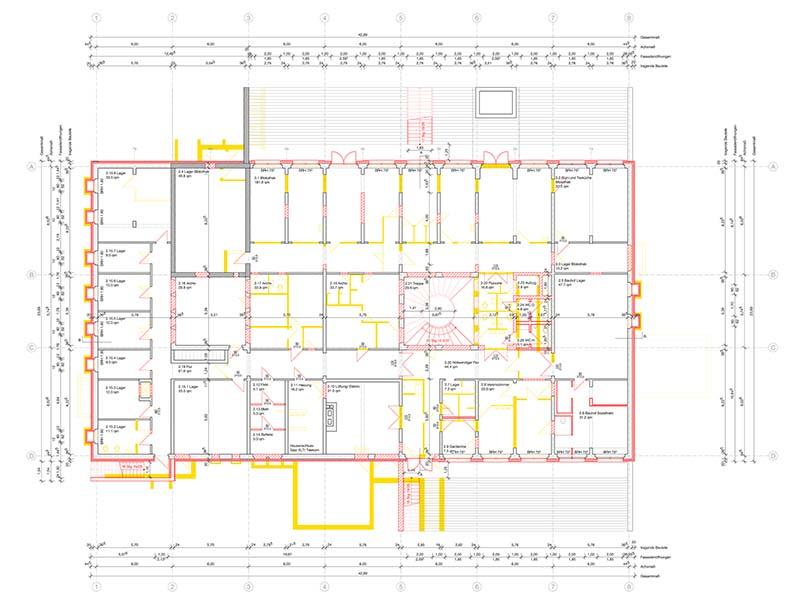 Landambulatorium Dommitzsch | Sanierung | Schoener und Panzer Architekten BDA