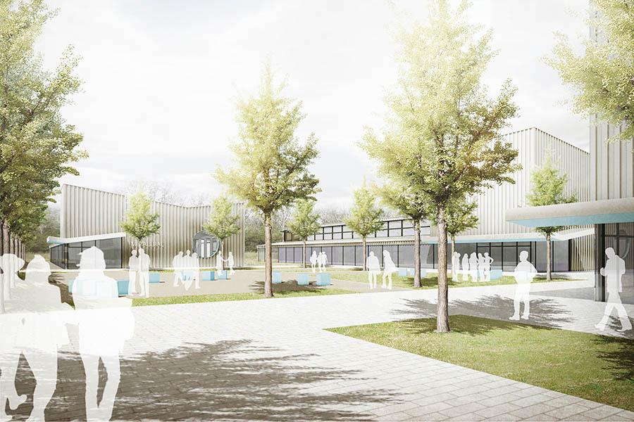 Campus Handwerk, Halle (Saale) | Neubau | Schoener und Panzer Architekten BDA